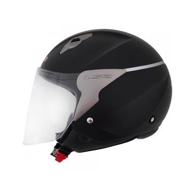 Capacete LS2 OF559 Mono Preto Fosco  - Nova Suzuki Motos e Acessórios