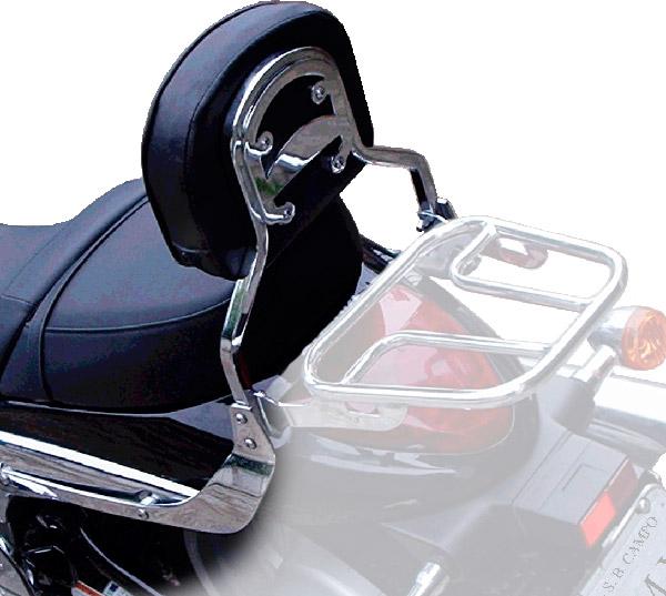Encosto s/ Bagageiro Tubular FMV p/ Boulevard M1500  - Nova Suzuki Motos e Acessórios
