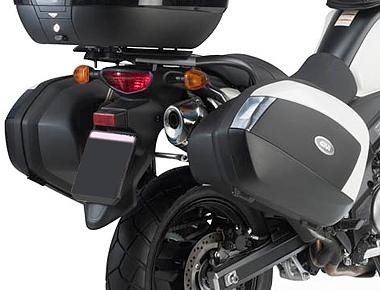 Suporte Lateral PLX3101 de baú Givi V35 para V-Strom 650 (12 à 17) - Pronta entrega  - Nova Suzuki Motos e Acessórios