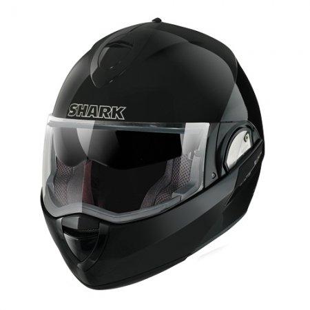 Capacete Shark Evoline Serie 3 Fusion BLK Escamoteável/Articulado  - Nova Suzuki Motos e Acessórios