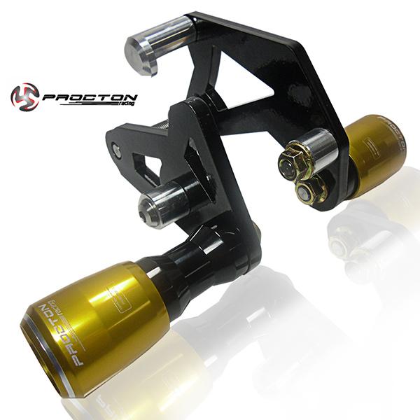 Slider Dianteiro Procton com Amortecimento p/ CBR 1000RR 08/11  - Nova Suzuki Motos e Acessórios