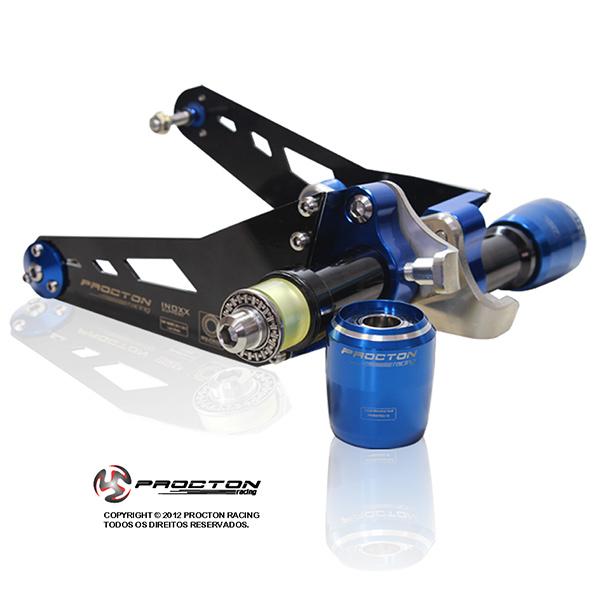 Slider Dianteiro Procton com Amortecimento p/ CBR 1000RR 12/16 ROLETADO  - Nova Suzuki Motos e Acessórios