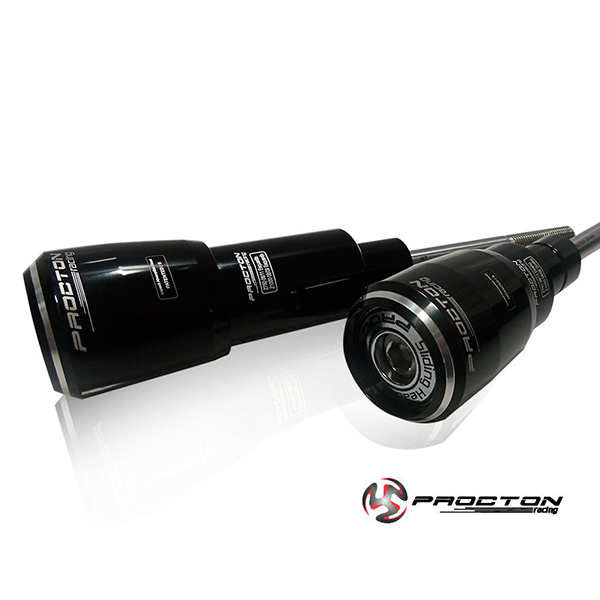 Slider Dianteiro Procton com Amortecimento p/ Z750 08/12 e Z1000 08/09  - Nova Suzuki Motos e Acessórios