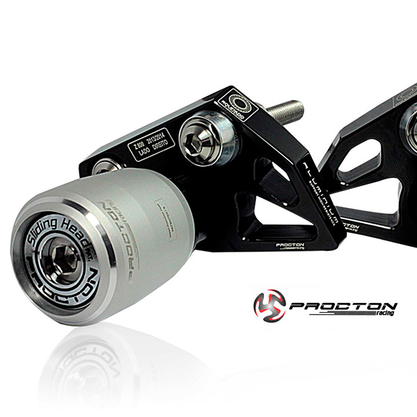 Slider Dianteiro Procton com Amortecimento p/ Z800 - 13/16 - ROLETADO  - Nova Suzuki Motos e Acessórios