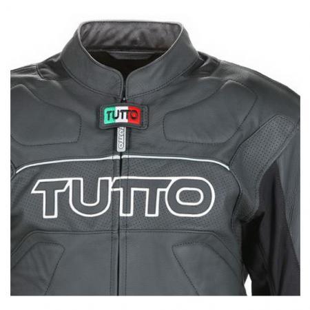 Jaqueta Tutto Tifon X-1 Couro Esportiva - Só  62 - Super Queima  - Nova Suzuki Motos e Acessórios