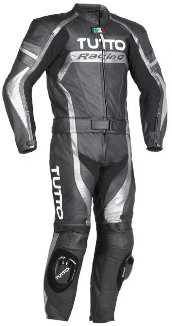 Macacão Tutto Moto Racing Cinza 2 peças - SÓ 62  - Nova Suzuki Motos e Acessórios