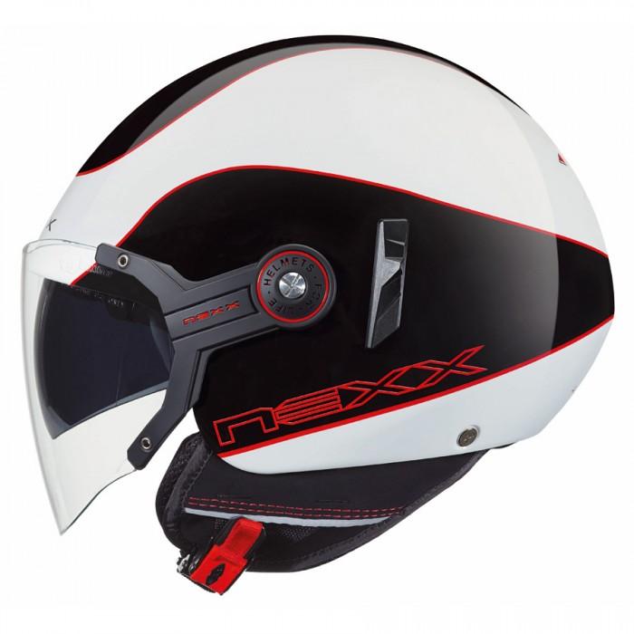 Capacete Nexx X60 Mercure Shiny / Red C/ Viseira solar - Pronta Entrega  - Nova Suzuki Motos e Acessórios