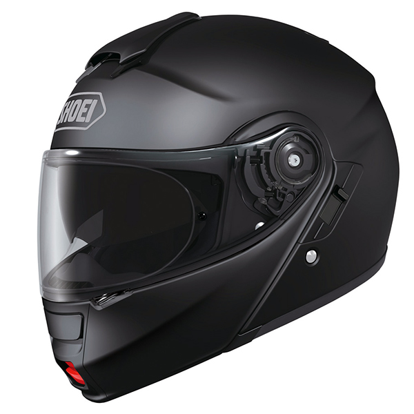 Capacete Shoei Neotec Preto Fosco Escamoteável   - Nova Suzuki Motos e Acessórios