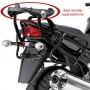Monorack Givi 451FZ p/baú traseiro Versys 650 10/11 - Pronta Entrega