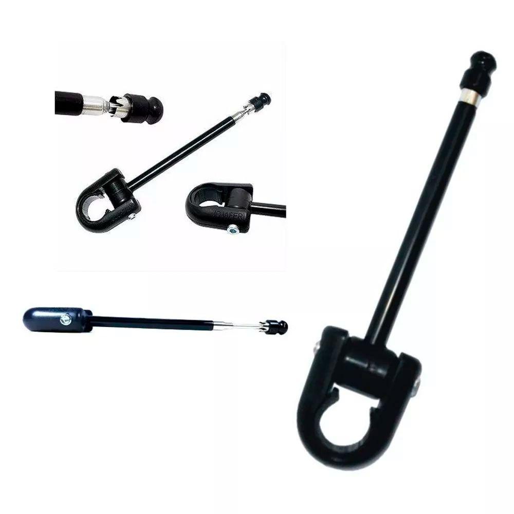 Antena Corta Pipa Jojafer Moto Universal Retratil Anti Cerol M5b  - Nova Suzuki Motos e Acessórios