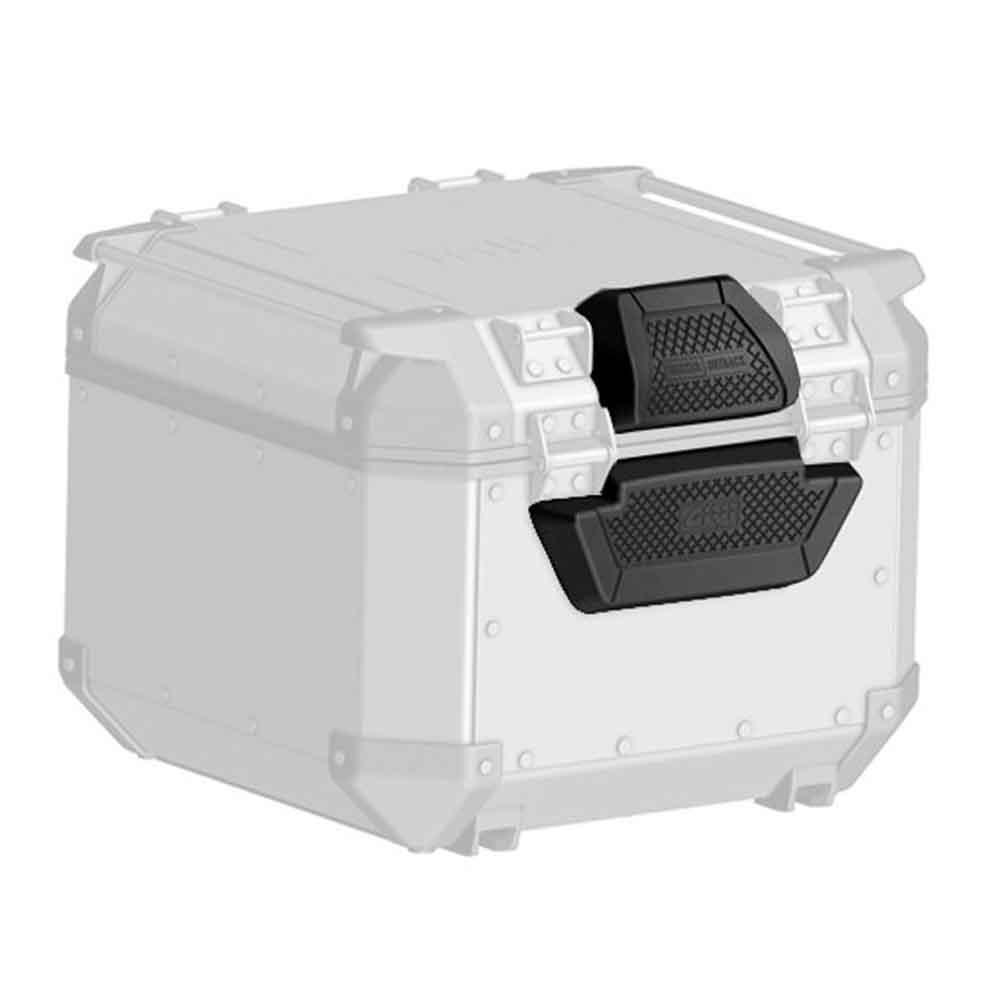 Apoio/Encosto para Baú OUTBACK 42 Litros (E173)  - Nova Suzuki Motos e Acessórios