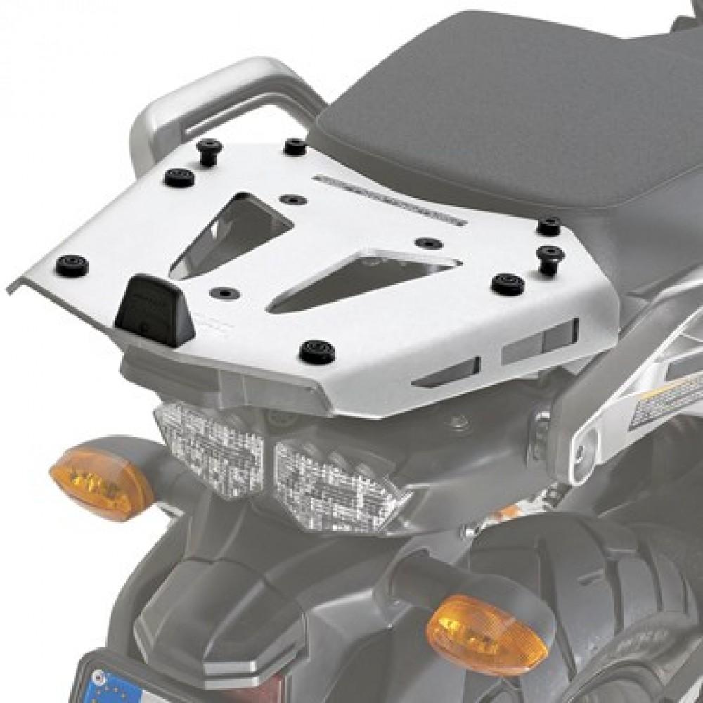 Base/Rack de baú Monokey Givi SRA2101 Alumínio para XT1200 Super Teneré 14/15 (Baús Importados) - Pronta Entrega  - Nova Suzuki Motos e Acessórios