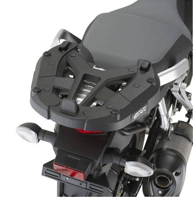 Base/Rack de baú Monokey Givi SR3105 para DL1000 14 à 17 (Baús Importados)  - Pronta Entrega  - Nova Suzuki Motos e Acessórios