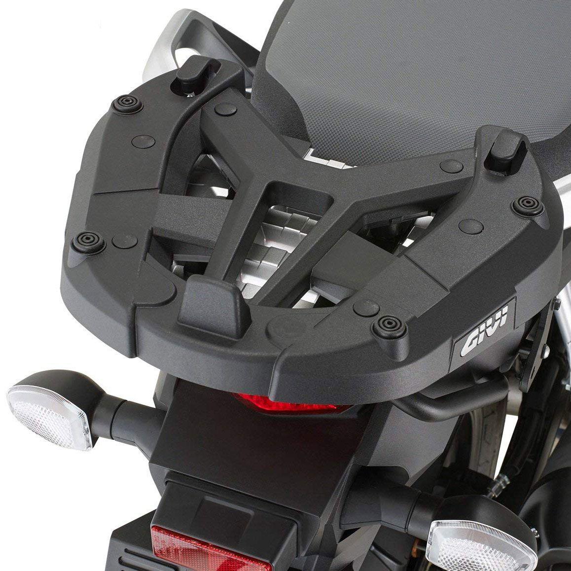 Base/Rack de baú Monokey Givi SR3112 para DL1000/DL650 2017 (Baús Importados)  - Pronta Entrega  - Nova Suzuki Motos e Acessórios