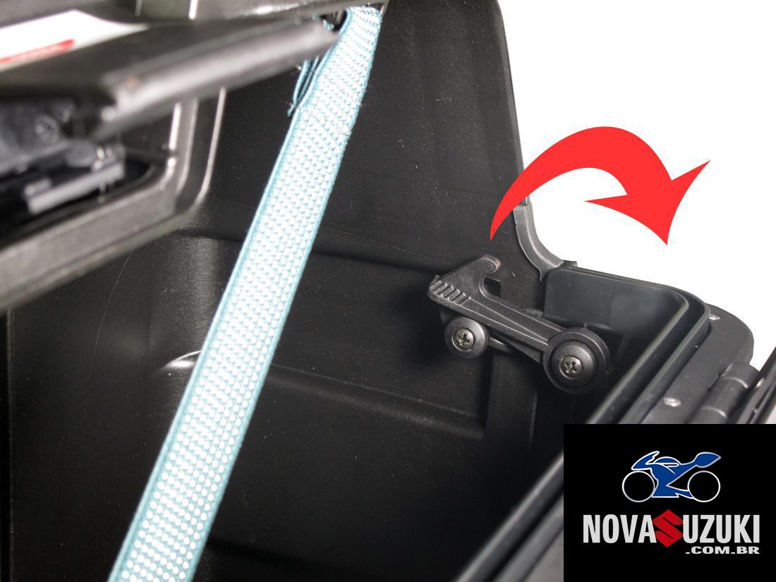 Baú Givi TREKKER ALUMINUM Black 33 LITROS (lateral ou traseiro) - Pronta Entrega  - Nova Suzuki Motos e Acessórios