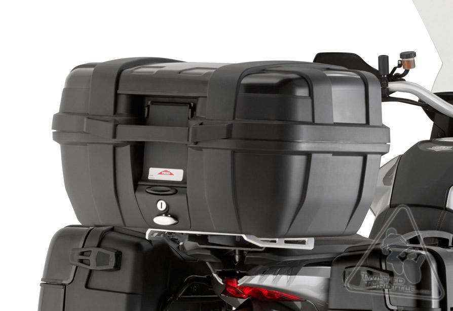 Baú Givi TREKKER ALUMINUM Black 52 LITROS Traseiro - Pronta entrega  - Nova Suzuki Motos e Acessórios