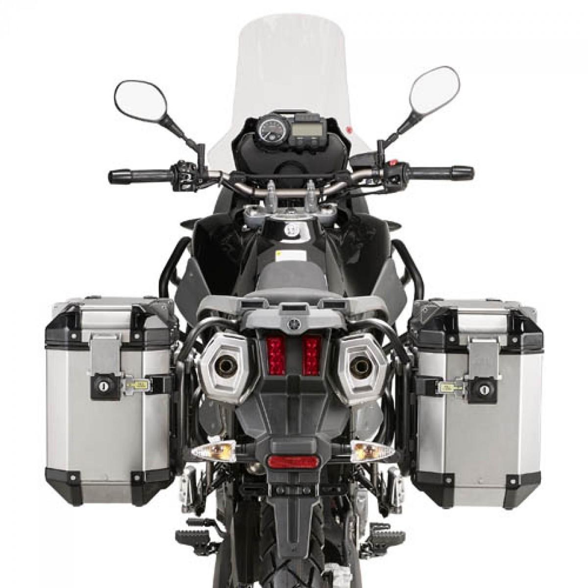 Baú Givi Trekker OUTBACK 48L Lateral (OBK48APACK2) - O Par  - Nova Suzuki Motos e Acessórios