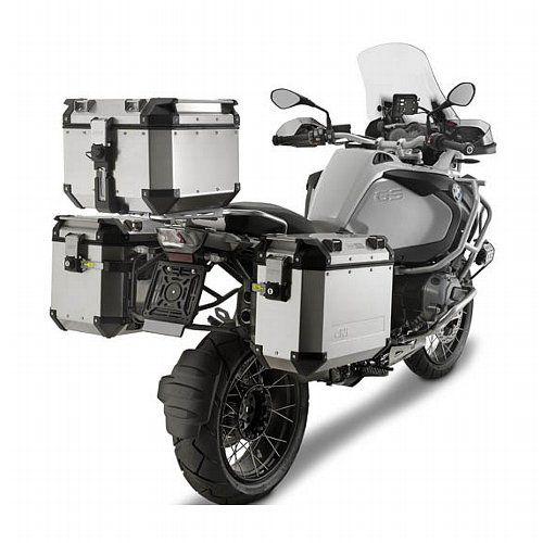 Baú Givi Trekker OUTBACK 58 Litros  - Nova Suzuki Motos e Acessórios
