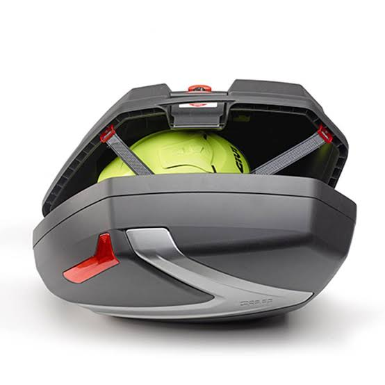 Baú Lateral Givi V37 Lente vermelha(O Par) V37NN- Pronta Entrega  - Nova Suzuki Motos e Acessórios