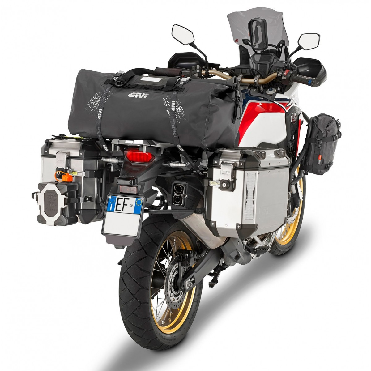 Bolsa Givi Traseira UT804 80 Litros Impermeável - Pronta Entrega  - Nova Suzuki Motos e Acessórios
