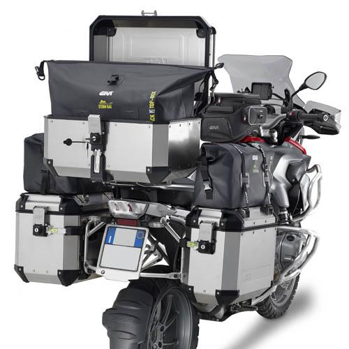 Bolsa Interna Givi T512 para baú OUTBACK Lateral 58litros Impermeável (Unitária)  - Nova Suzuki Motos e Acessórios