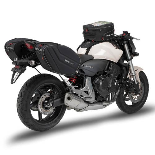 Bolsa Lateral (Alforges) Givi EA101 - 30lts - Expansível  - Nova Suzuki Motos e Acessórios