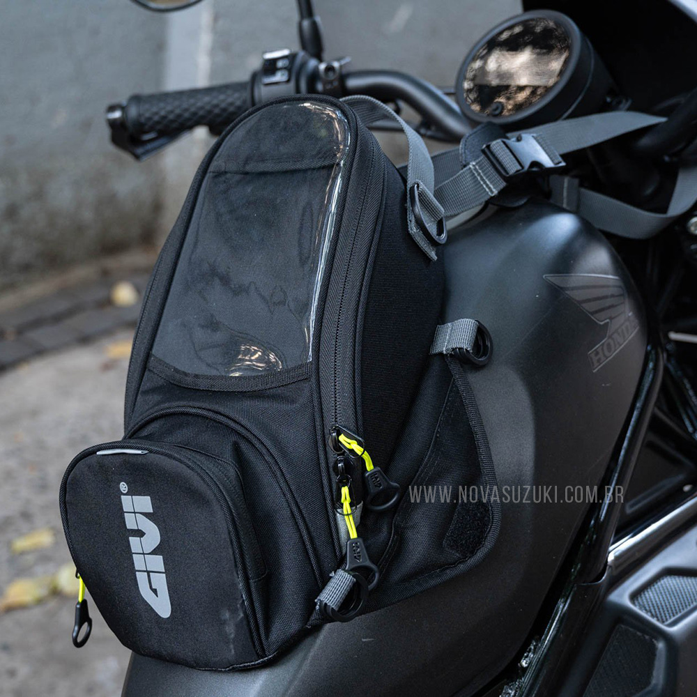 Bolsa Magnética para Tanque Givi 6L EA106B  - Nova Suzuki Motos e Acessórios