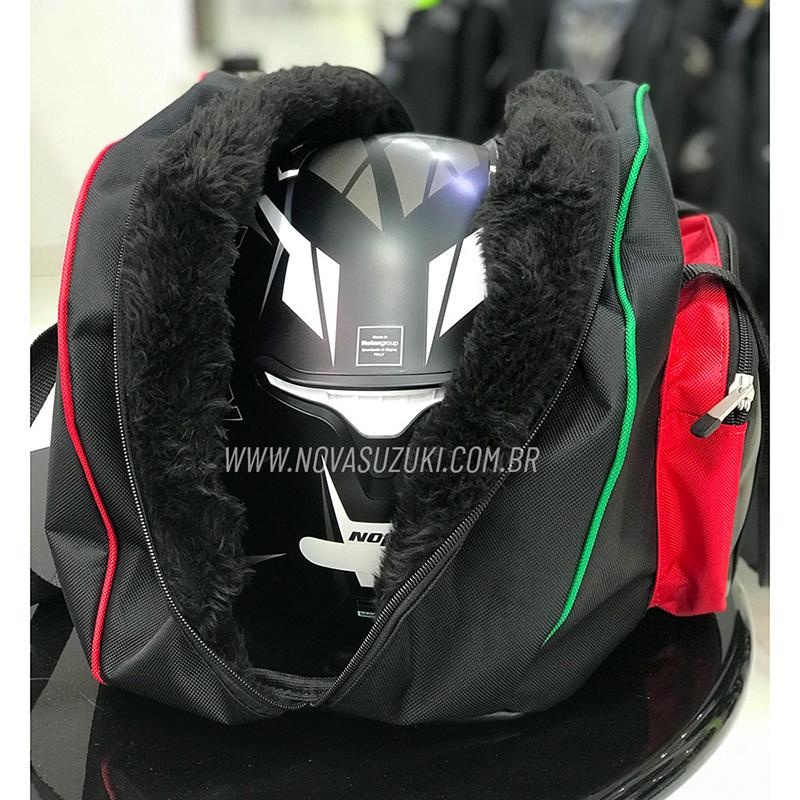 Bolsa Porta Capacete Nolan forrada  - Nova Suzuki Motos e Acessórios