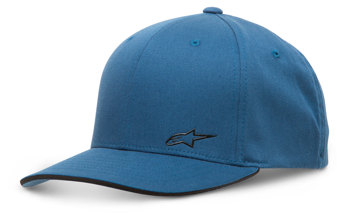 Boné Alpinestars Copilot (Blue)  - Nova Suzuki Motos e Acessórios