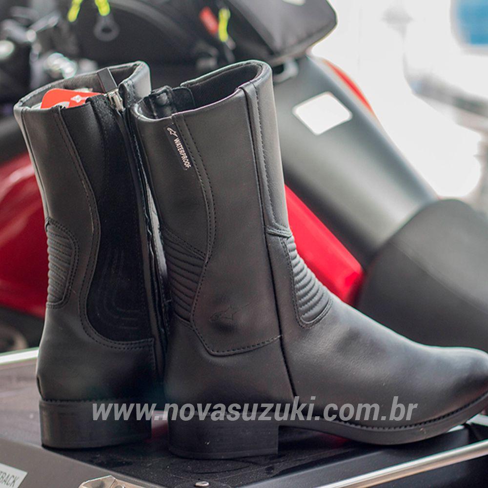 Bota Alpinestars Stella Vika 2 Feminina - Impermeável  - Nova Suzuki Motos e Acessórios