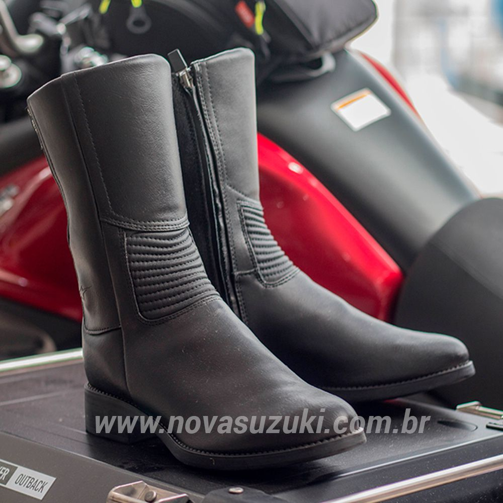 Bota Alpinestars Stella Vika Feminina - Impermeável  - Nova Suzuki Motos e Acessórios