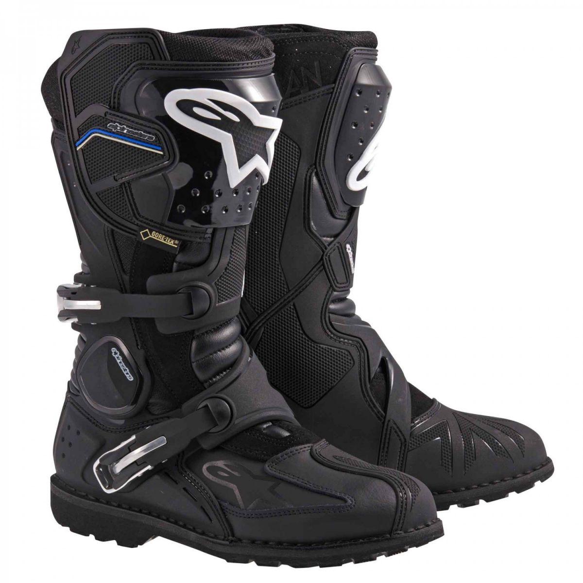 Bota Alpinestars Toucan Gore-tex Preta Big Trail  - Nova Suzuki Motos e Acessórios