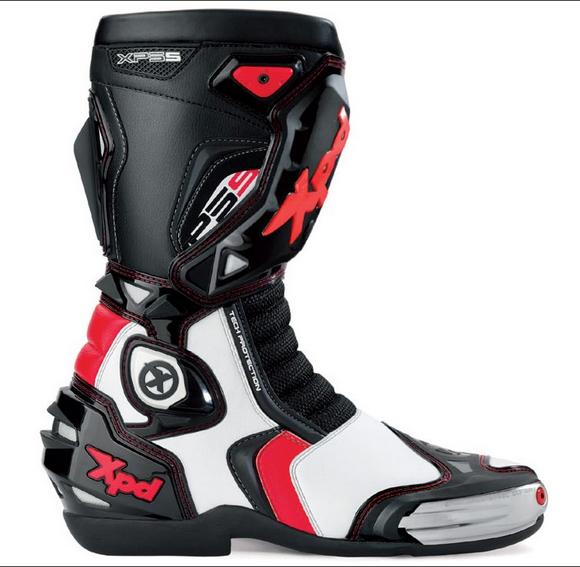 Bota Spidi XPD XP5-S WRS Racing Vermelha - Esportiva  - Nova Suzuki Motos e Acessórios