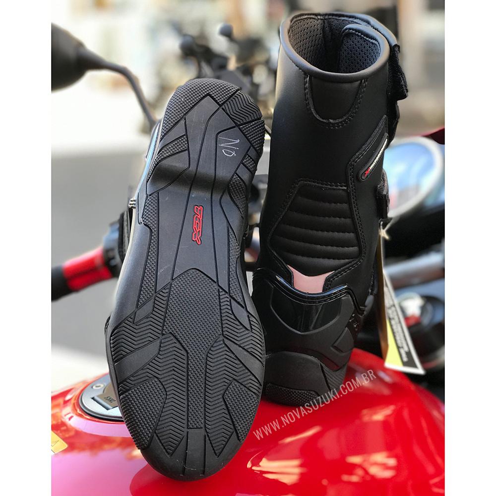 Bota TCX Spoke 100% Impermeável (Radon Sidi/Alpinestars)  - Nova Suzuki Motos e Acessórios