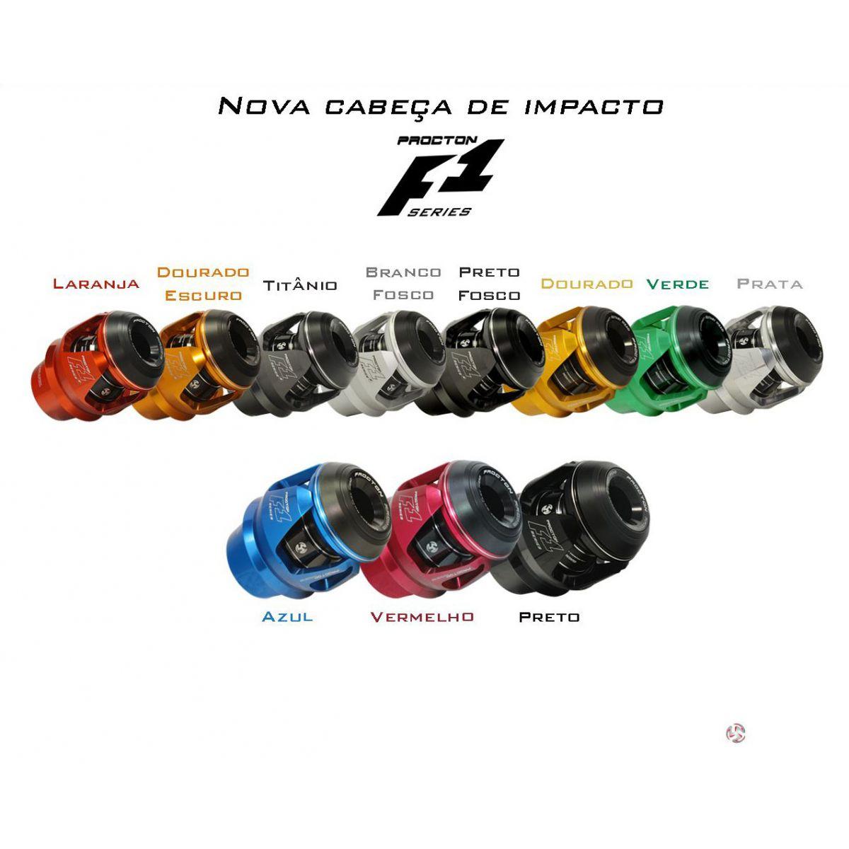 Cabeça de Impacto F1 Procton  - Nova Suzuki Motos e Acessórios