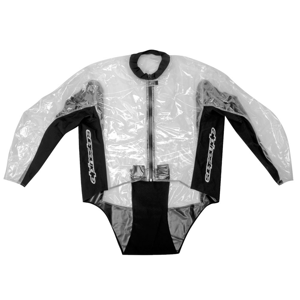Capa de Chuva Alpinestars Racing Rain 2pçs  - Nova Suzuki Motos e Acessórios