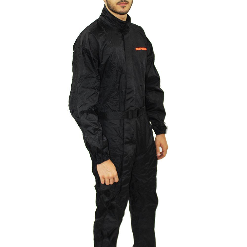 Capa de chuva Spidi Digirain Preta - Pronta Entrega  - Nova Suzuki Motos e Acessórios