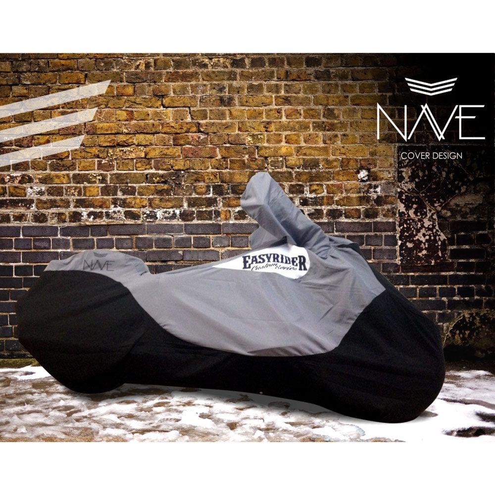 Capa de Moto Nave para Motos Super Custom ou Custom Touring (Repelente à água, Não risca)  - Nova Suzuki Motos e Acessórios