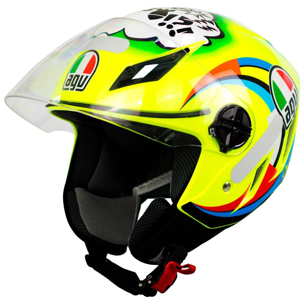 Capacete AGV Blade Misano Valentino Rossi NOVO! - Aberto  - Nova Suzuki Motos e Acessórios