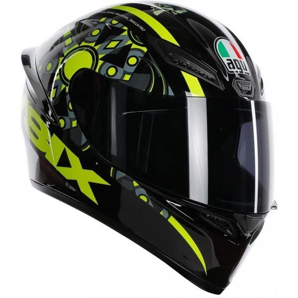 Capacete AGV K-1 Flavum 46 Valentino Rossi (Nolan N87)  - Nova Suzuki Motos e Acessórios