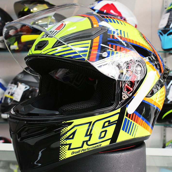 Capacete AGV K-1 Soleluna Valentino Rossi (Nolan N87)  - Nova Suzuki Motos e Acessórios