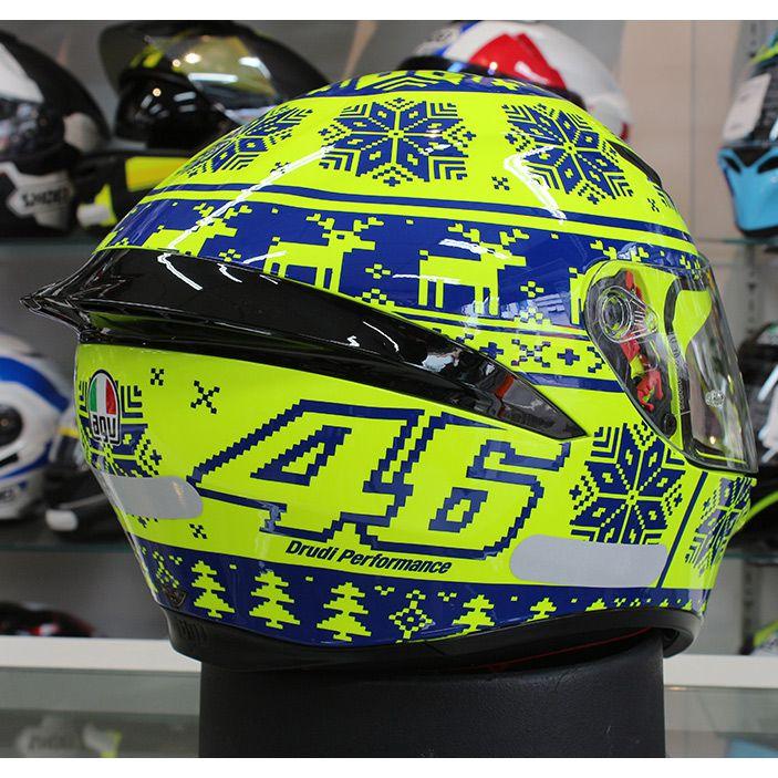 Capacete AGV K-1 Winter Test 15 Valentino Rossi (Nolan N87)  - Nova Suzuki Motos e Acessórios