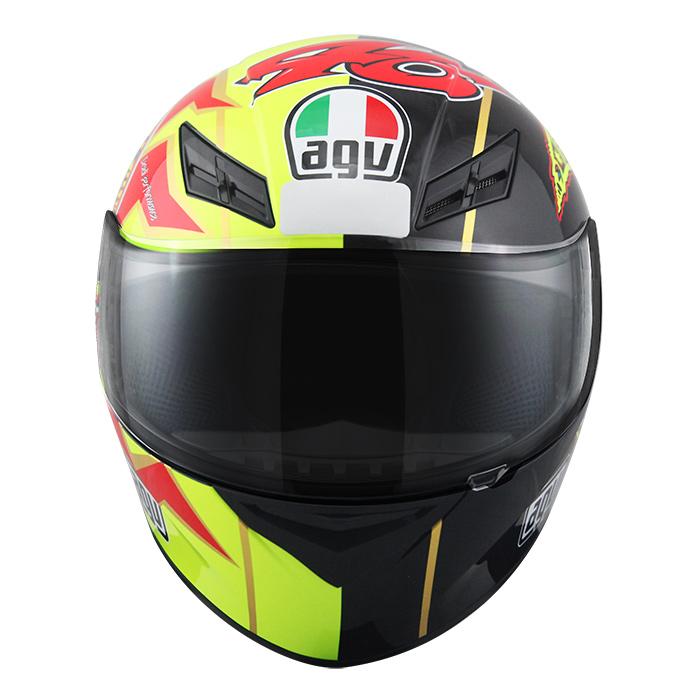 Capacete AGV K-3 Sun & Moon Valentino Rossi  - Nova Suzuki Motos e Acessórios