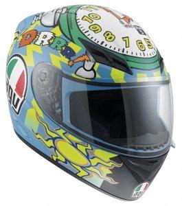 Capacete AGV K-3 Wake-Up Réplica Oficial Valentino Rossi  - Nova Suzuki Motos e Acessórios