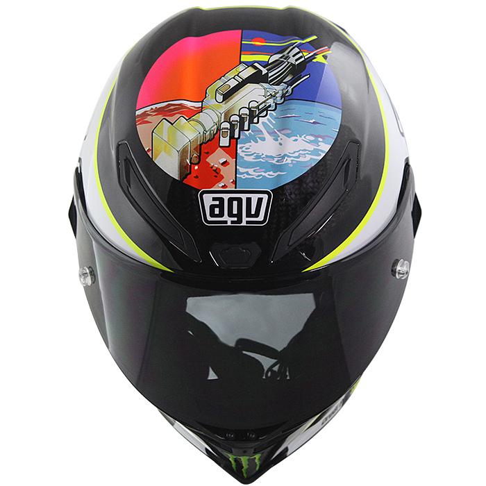Capacete AGV Pista GP Limit W.Wish (PINK FLOYD) - Super Oferta! ( Consulte-nos )  - Nova Suzuki Motos e Acessórios