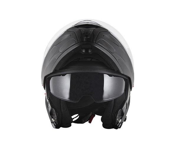 Capacete LS2 FF324 Metro Monocolor Black Escamoteável  - Nova Suzuki Motos e Acessórios