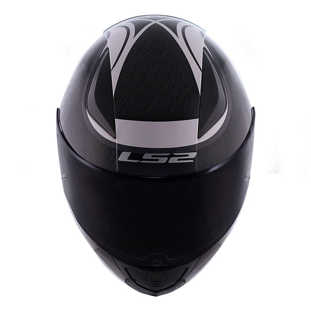 Capacete LS2 FF353 Rapid Deeper - cinza  - Nova Suzuki Motos e Acessórios