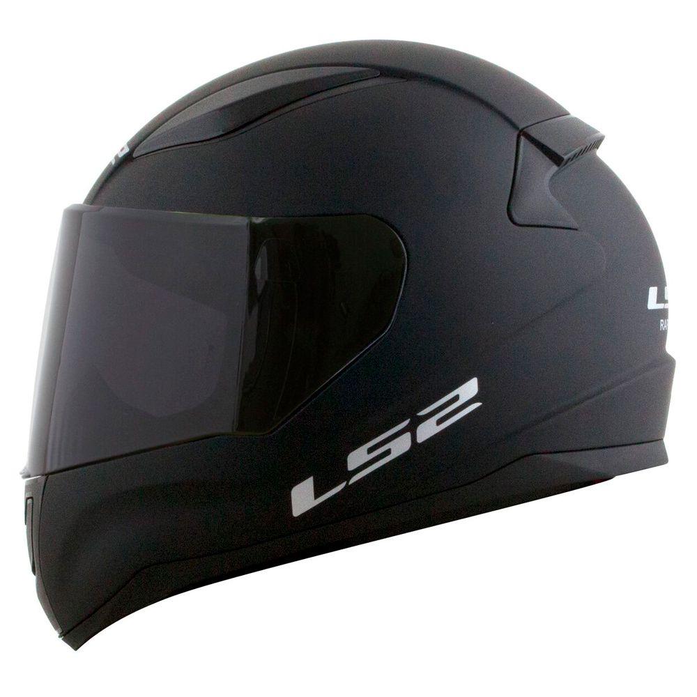 Capacete LS2 FF353 Rapid  Mono - preto fosco  - Nova Suzuki Motos e Acessórios