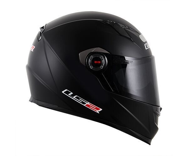 Capacete LS2 FF358 MonoColor Preto Fosco  - Nova Suzuki Motos e Acessórios