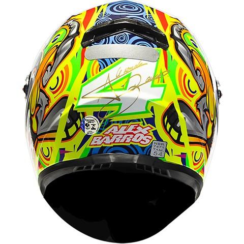 Capacete LS2 FF358 Réplica Alex Barros - Pronta Entrega  - Nova Suzuki Motos e Acessórios